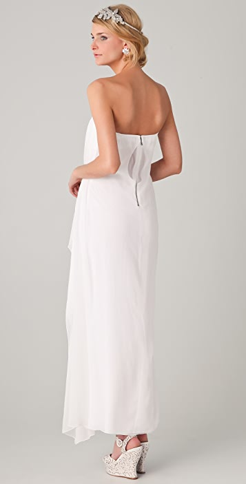 alice + olivia Ty Strapless Dress