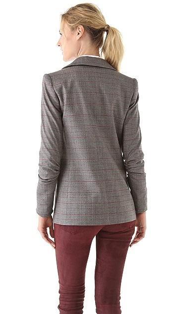 alice + olivia Lanna Single Button Blazer
