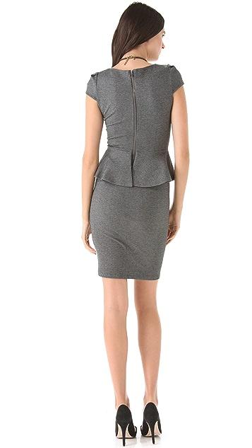 alice + olivia Adeline Peplum Dress
