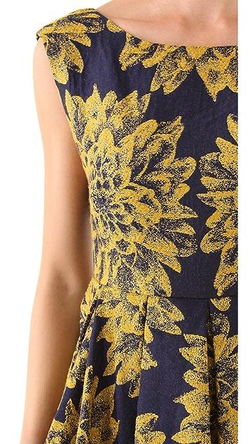alice + olivia Reese Flare Dress