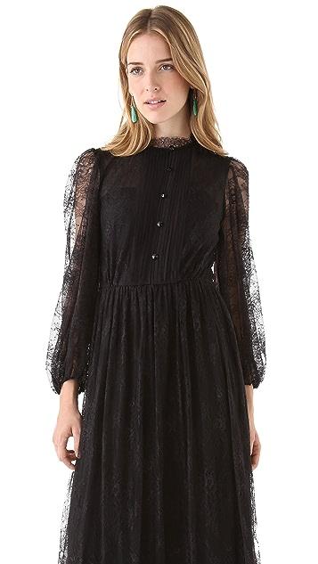 alice + olivia Baylee High Neck Dress