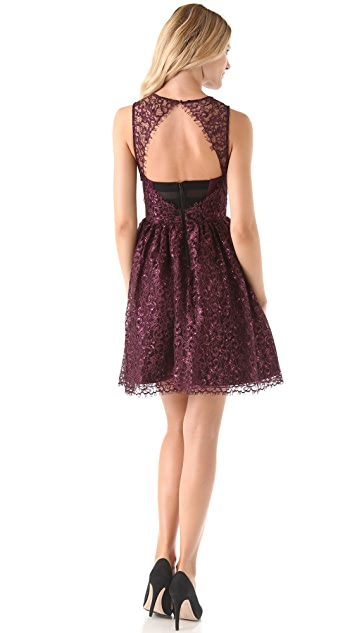 alice + olivia Ophelia Lace Dress