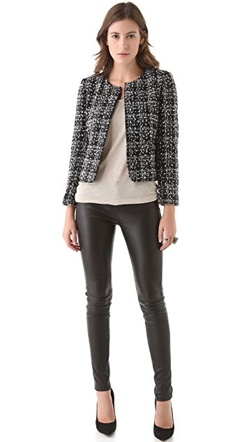 alice + olivia Alanna Box Jacket
