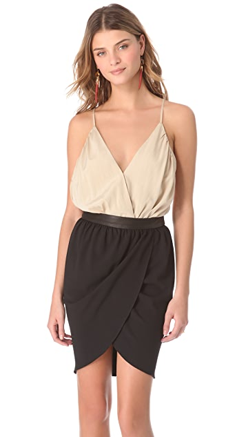alice + olivia V Neck Tank Bodysuit