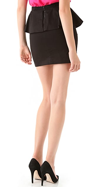 alice + olivia Carly Peplum Skirt