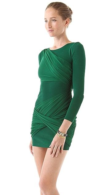 alice + olivia Long Sleeve Goddess Dress