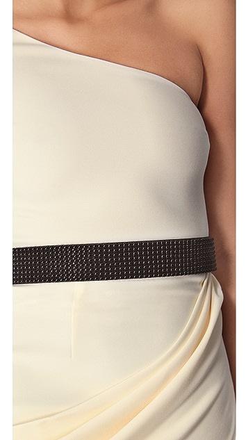 alice + olivia Maryellen One Shoulder Dress