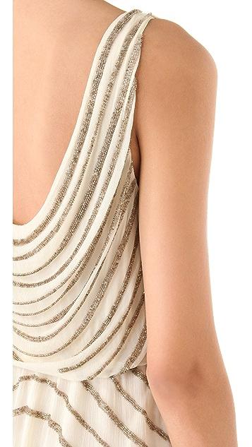 alice + olivia Giselle Beaded Dress
