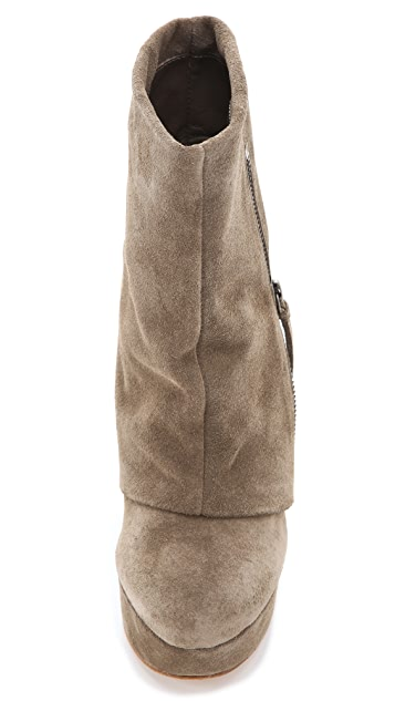 alice + olivia Yeardley Zip Cuff Boots
