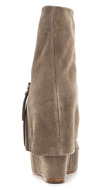 alice + olivia Yeardley Zip Cuff Boots