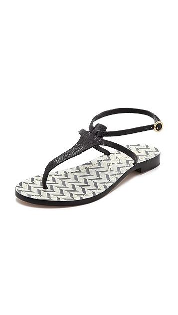 alice + olivia Bria Thong Sandals