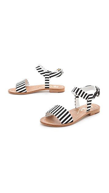 alice + olivia Bella Flat Sandals