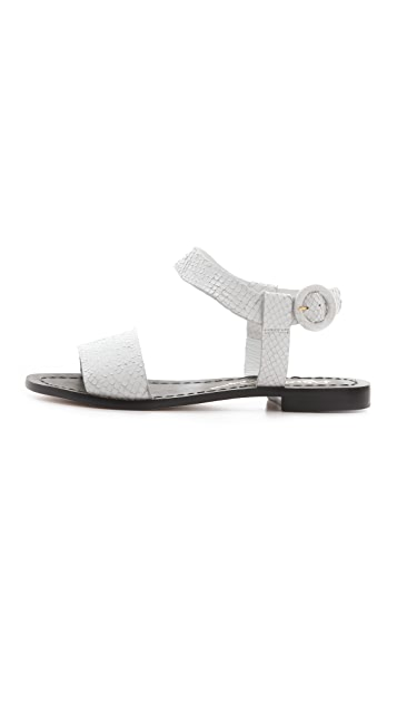 alice + olivia Bella 2 Band Flat Sandals