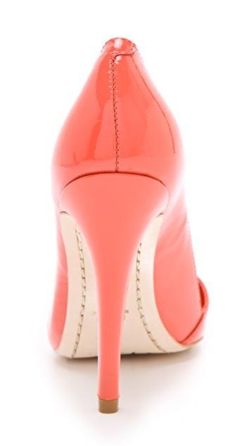 alice + olivia Dina Patent Pumps