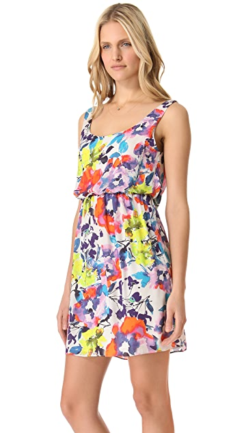 alice + olivia Roi Tank Blouson Dress