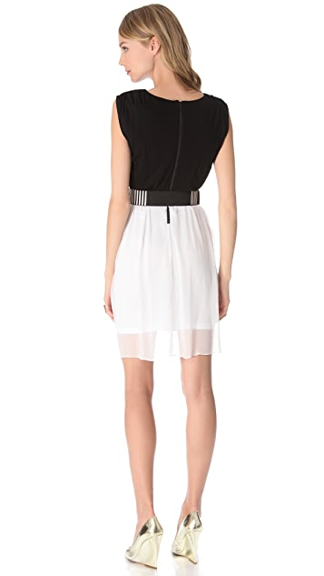 alice + olivia Autumn Tulip Skirt Dress