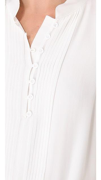 alice + olivia Tavi Pintuck Dress