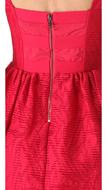 alice + olivia Tristen Full Skirt Dress