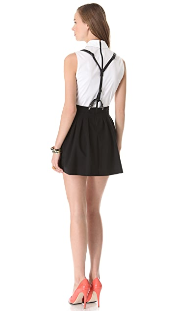 alice + olivia Dryden Suspender Dress