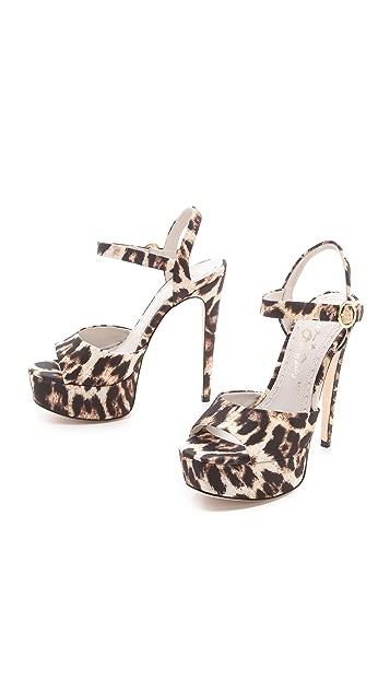 alice + olivia Lena Platform Sandals