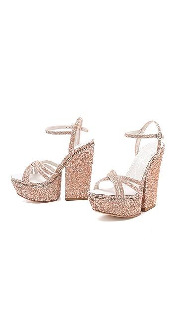 alice + olivia Ursula Platform Sandals