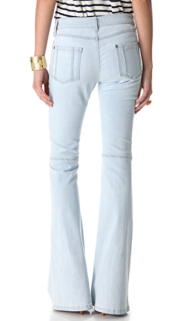 alice + olivia 5 Pocket Bell Pants