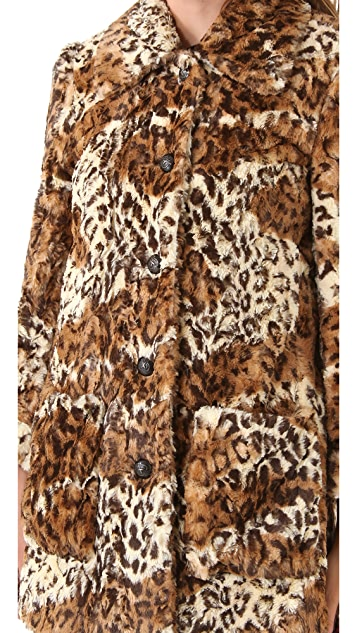 alice + olivia Pali Faux Fur Jacket