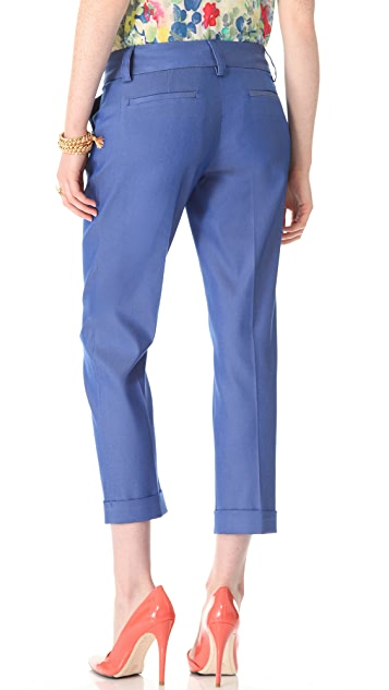 alice + olivia Stacey Cuffed Pants