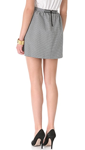 alice + olivia Double Layer Skirt