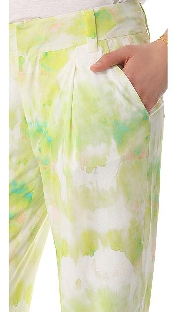 alice + olivia Tie Dye Arthur Pants