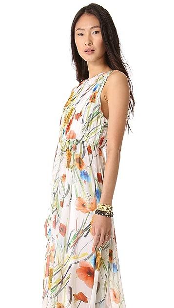 alice + olivia Mel Open Back Dress