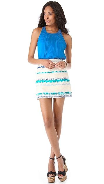 alice + olivia Neo A Line Skirt