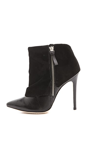 alice + olivia Dawson Zip Booties