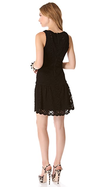 alice + olivia Wendy Flare Dress