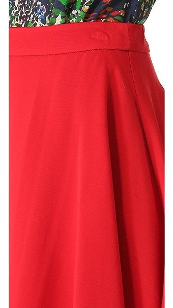 alice + olivia Blaise Flare Miniskirt