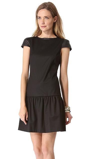 alice + olivia Reagan Drop Waist Dress