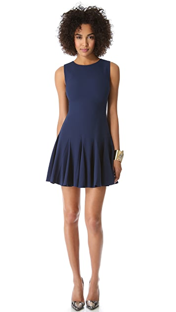 alice + olivia Chantil Crew Neck Dress