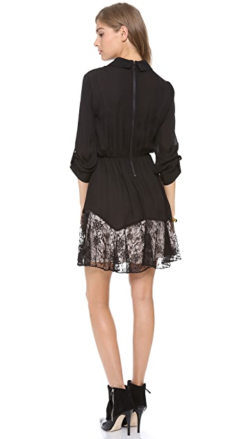 alice + olivia Raquel Button Down Dress