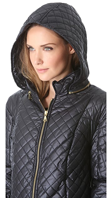 alice + olivia Hooded Puffer Jacket