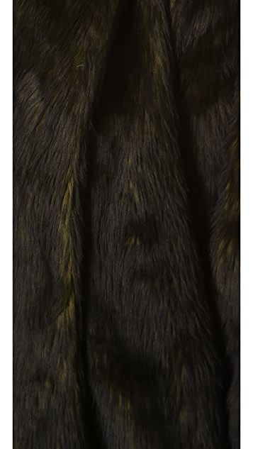 alice + olivia Alita Faux Fur Coat