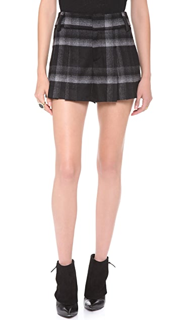 alice + olivia High Waist Shorts