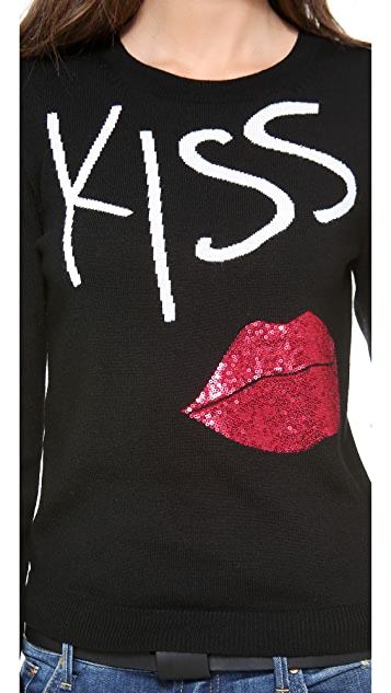 alice + olivia Karsyn Kiss & Tell Sweater