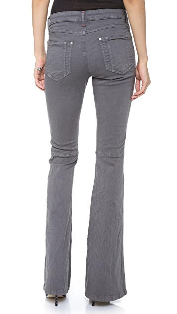 alice + olivia Washed Stacey Bell Jeans