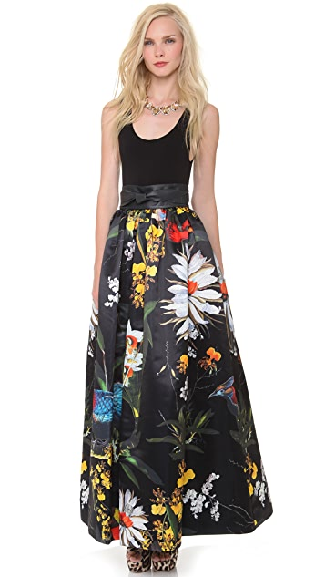 alice + olivia Tina Ball Gown Skirt