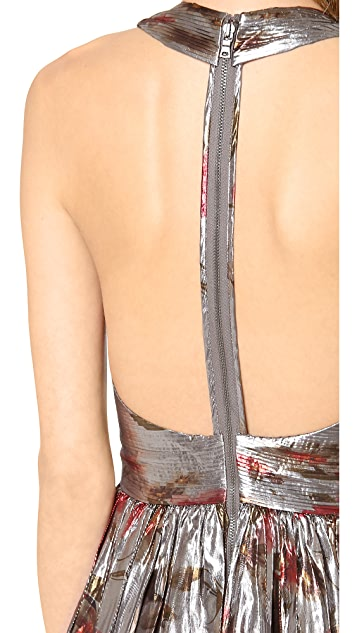alice + olivia Nova Tiered Gown