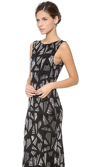 alice + olivia Vivienne Mermaid Gown