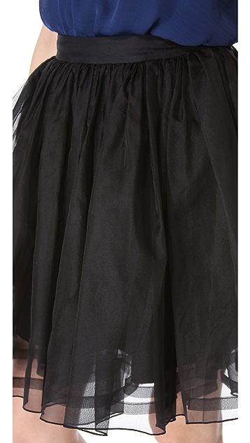 alice + olivia Bergen A Line Miniskirt