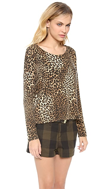 alice + olivia Karin Drop Shoulder Top