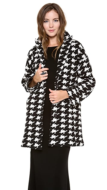 alice + olivia Mosley Oversized Cocoon Coat