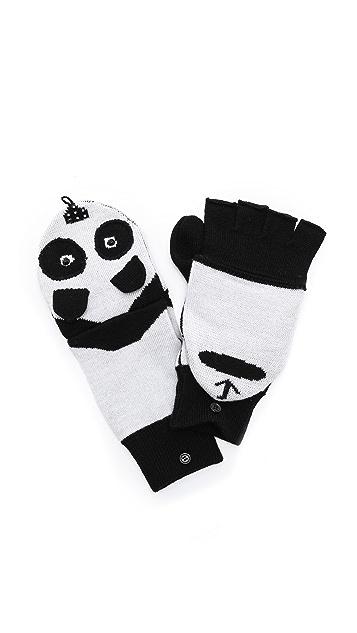 alice + olivia Panda Mittens